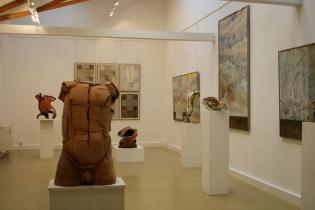 Begegnung, Axel Müller und Karl Fulle, Galerie Bernau 2007