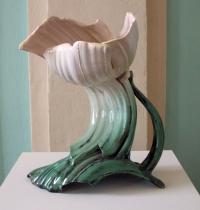 Kunst Form Ton, Schloss Köpenick 2015, Blütengefäß